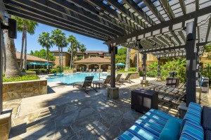 Three Bedroom Apartments for Rent in Northwest Houston, TX -Pergola, Pool & Patio